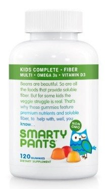 SmartyPants Kids Complete and Fiber Gummy Vitamins 120 count