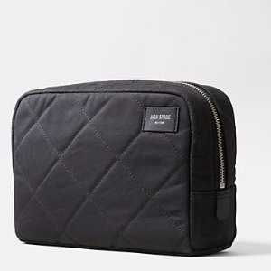 Quilted Waxwear Slim Toiletry Kit - JackSpade