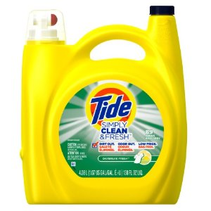 Tide Simply Clean & Fresh Laundry Detergent, Daybreak Fresh, 89 HE Loads | Jet.com
