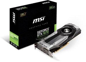 $429.99 MSI GeForce GTX 1070 Founders Edition