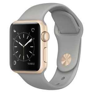 Apple® Watch Series 1 38mm Gold Aluminum Case with Concrete Sport Band : Target