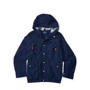 Cotton-Blend Hooded Jacket - Jackets � Jackets & Vests - RalphLauren.com