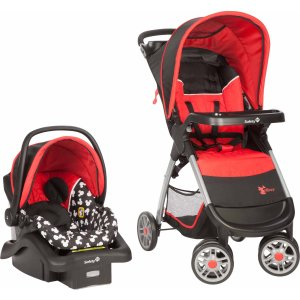Disney Baby Amble Quad Travel System, Mickey Silo - Walmart.com