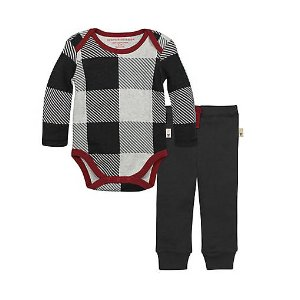 Buffalo Check Bodysuit & Pant Set