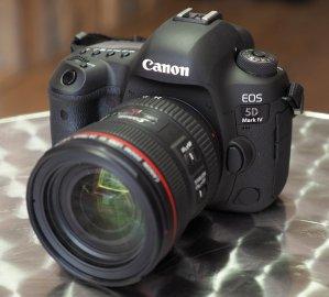 Pre-Order Now! Canon 5D Mark IV DSLR Cameras