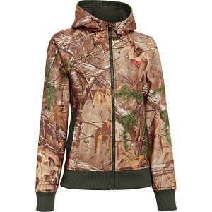 Under Armour Womens Performance Camo Full-Zip Hoodie