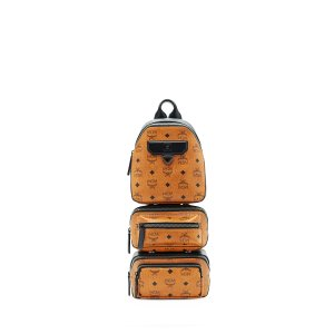 Medium MCM NOMAD COLLECTION SLING in Cognac by MCM