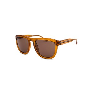 Calvin Klein CK3187S-5420212 Sunglasses,Men's Square Translucent Brown Sunglasses Brown Lenses, Sunglasses Calvin Klein Sunglasses Sunglasses