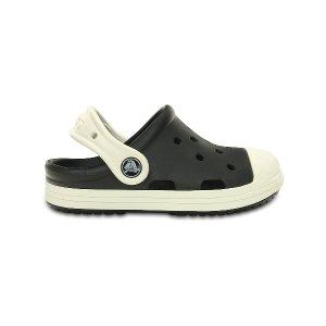 Crocs Black & Oyster Bump It Clog | zulily