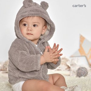 Up to 60% Off + Extra 25% off $40Baby and Kid's Winter Apparel @ Carter's
