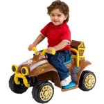 Disney Jake and the Never Land Pirates Quad 6V Battery-Powered Ride-On