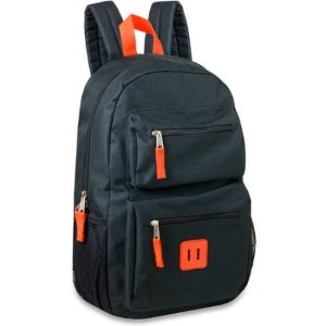 $6.88 18 Inch Double Pocket Backpack