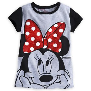 Minnie Mouse Bow Tee for Girls - Disneyland | Disney Store