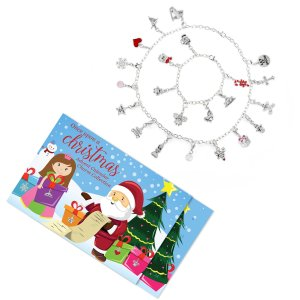 Girls' Christmas Advent Calendar Jewelry Charm Collection