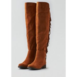 AEO FRINGE TALL BOOT