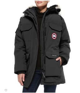 Extended 1 Day! $1000 + $300 Gift Card Canada Goose Expedition Fur-Hood Parka, Red @ Neiman Marcus
