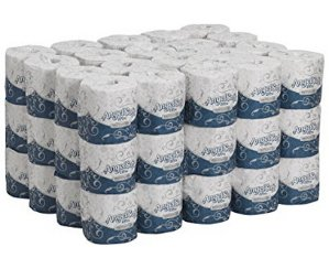 $27.94 60 Rolls Georgia-Pacific Angel Soft ps Ultra 16560 White 2-Ply Premium Embossed Bathroom Tissue