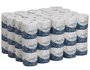 $27.94 60 Rolls Georgia-Pacific Angel Soft ps Ultra 16560 White 2-Ply Premium Embossed Bathroom Tissue