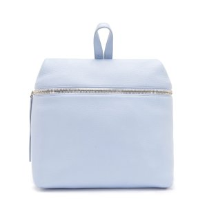 SKY BLUE PEBBLE LEATHER BACKPACK