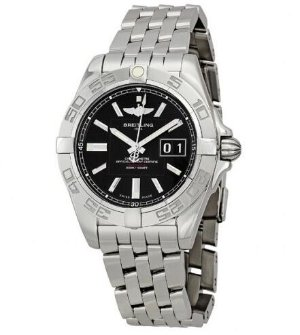 BREITLING Galactic 41 Black Dial Men's Watch A49350L2-BA07SS