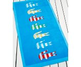 Lacoste Bayadere Beach Towel - Ultimate Pop Up Sale - For The Home