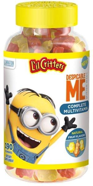 L'il Critters Minions Multivitamins Gummies, 190 Count
