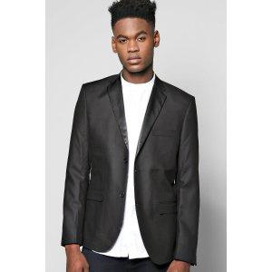 Smart Tux Skinny Fit Jacket With Satin Lapels