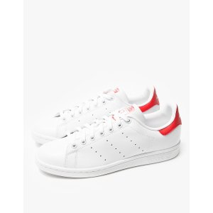 Adidas Stan Smith in White/Red