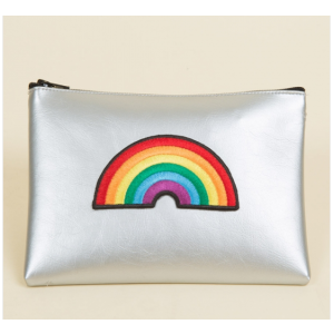 Rainbow Patch Pouch