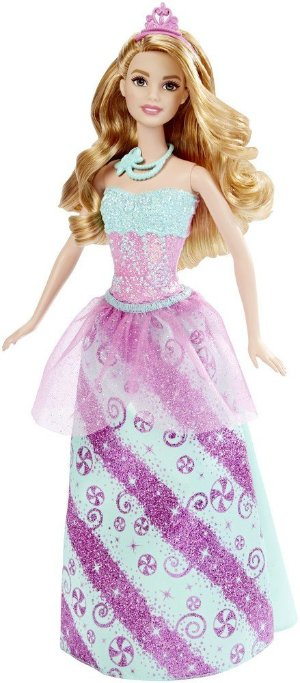 Barbie Princess Doll, Candy Fashion or Rainbow Fashion