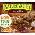 $10.5 Nature Valley Crunchy Granola Bars Pack of 6