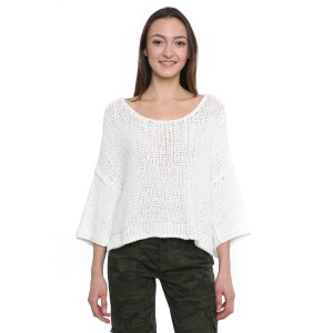 Free People Halo Crop Pullover Sweater   South Moon Under