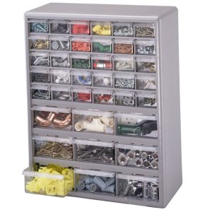 Stack-On D239 Blue 39-Drawer Organizer