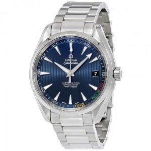 Omega   Aqua Terra Specialities Olympic Automatic Men's Watch 522.10.42.21.03.001 - Seamaster Aqua Terra - Omega - Watches - Jomashop