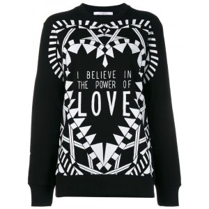 Givenchy SWEATER WITH LOVE PRINT | Tessabit shop online