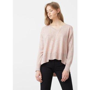 Flecked sweater - Woman | MANGO USA