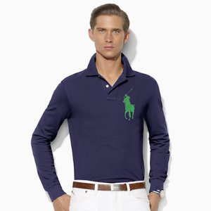 Custom Fit Cotton Mesh Polo - Custom Fit � Polo Shirts - RalphLauren.com