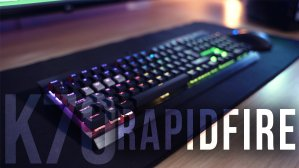 Corsair Gaming K70 RGB RAPIDFIRE Mechanical Keyboard