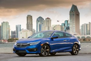 Sleek and Sophisticated2017 Civic Coupe