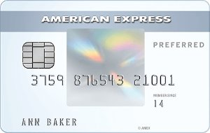 Earn 15,000 Membership Reward® points Terms ApplyThe Amex EveryDay Preferred®  Credit Card from American Express