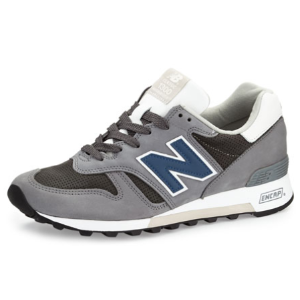 New Balance Men's 1300 Explore By Air Leather Sneaker, Navy/Gray