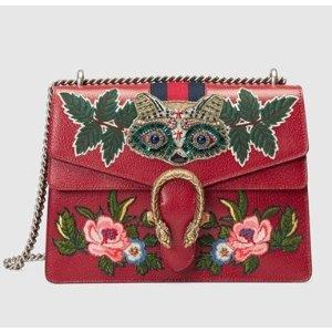 Dionysus embroidered shoulder bag GUCCI