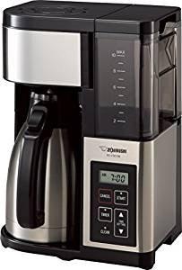 超值低价!$100.13象印Zojirushi 10杯 煮咖啡机+不锈钢保温壶 EC-YSC100