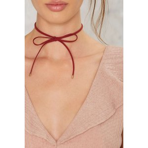So Gifted Bow Choker
