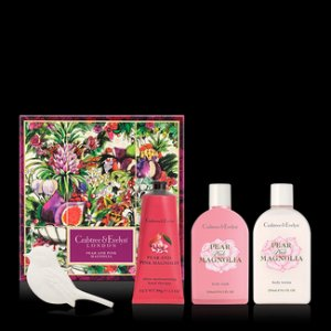 Pear and Pink Magnolia Deluxe Gift Set - Crabtree & Evelyn