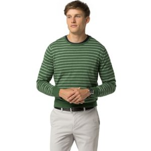 Stripe Crewneck Sweater | Tommy Hilfiger USA
