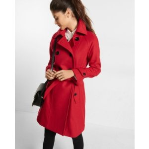 fit and flare peacoat