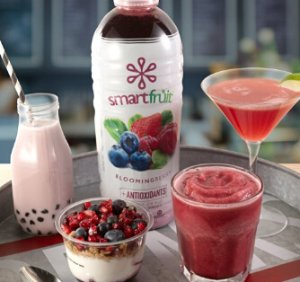 Smartfruit Blooming Berry, 100% Real Fruit Smoothie Mix
