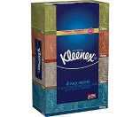 Kleenex® Facial Tissues, 4 Boxes/Pack, 160 Tissues/Box, 2-Ply | Staples®