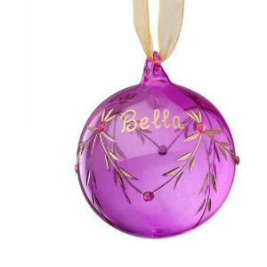 Personalized Glass Birthstone Ornament, October - Walmart.com
